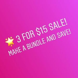Other - Closet Clean Out Sale! 🌟 $5 items!